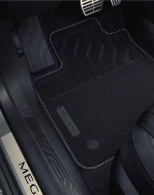 Renault Megane Estate | 2016 – heden Renault Megane Estate (vanaf 2016) - Automatten - Stof - Premium