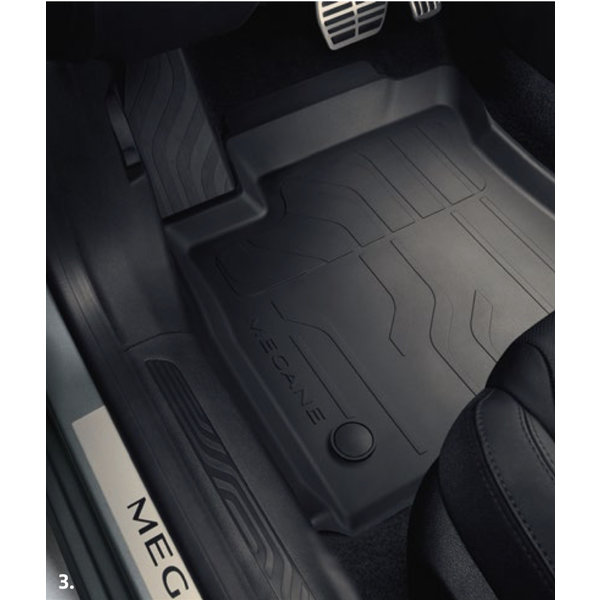 Renault Megane Estate IV | 2016 – heden Renault Megane Estate (vanaf 2016) - Automatten - Rubber - Set van 4