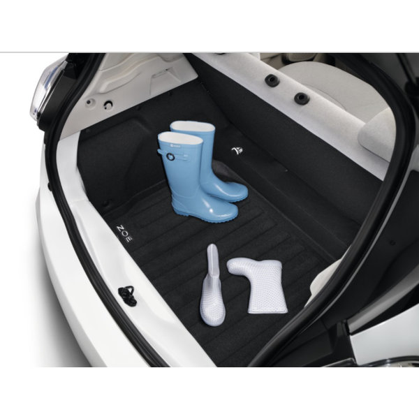 Renault ZOE Kofferbakmat Renault ZOE– stof