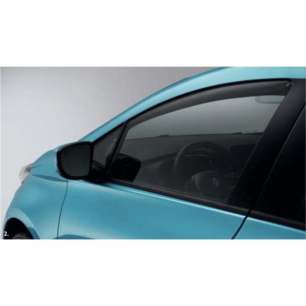 Renault ZOE Renault ZOE - Zijwindschermen - Voorzijde