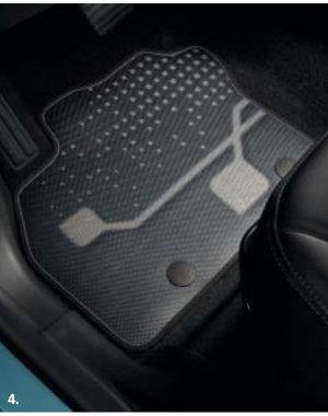 Renault ZOE Renault ZOE  - Automatten - Stof - Premium Innovation