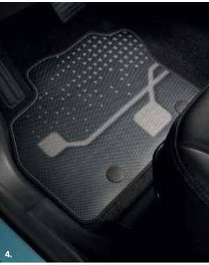 Renault ZOE Renault ZOE Premium Innovation - Automatten - Stof