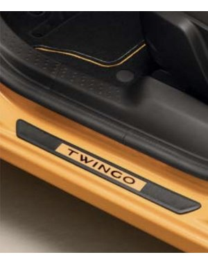 Renault Twingo Renault Twingo - Instaplijsten - Mango Geel