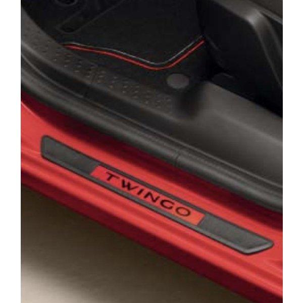 Renault Twingo Renault Twingo - Instaplijsten - Vuur Rood