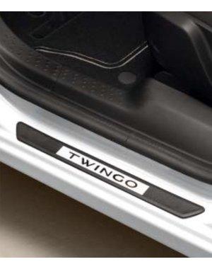 Renault Twingo Renault Twingo - Instaplijsten - Crystal Wit