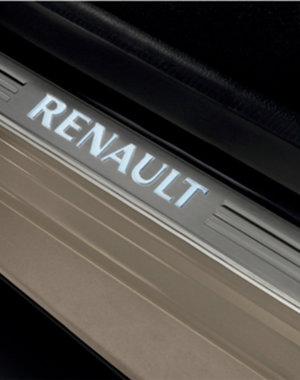 Renault Clio 4 (2012 - 2019) Renault Clio (2012 - 2019) - Instaplijsten - Verlicht