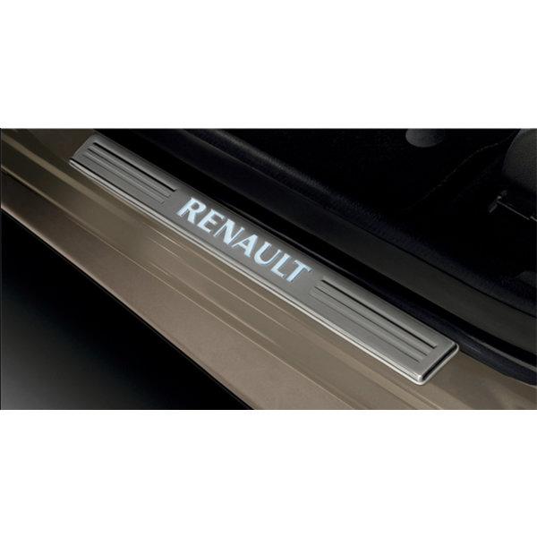 Renault Clio 4 (2012 - 2019) Renault Clio IV - Instaplijsten - Verlicht