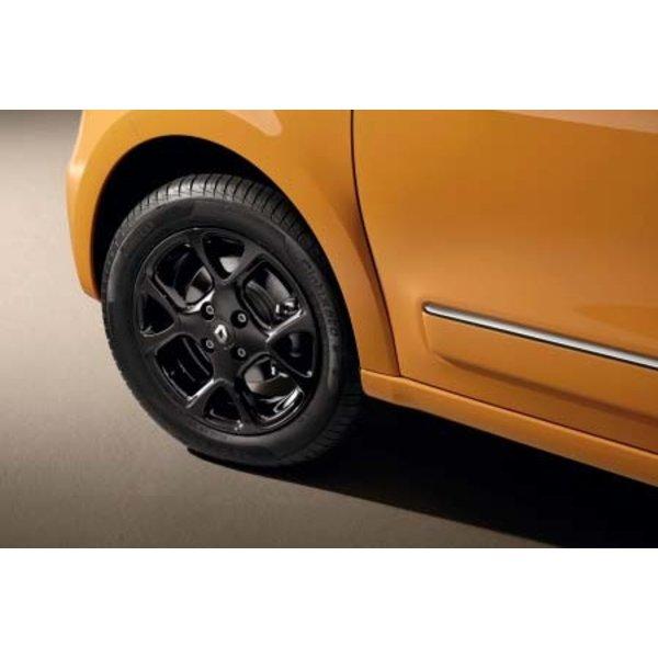 """Renault Twingo 15"""" Lichtmetalen velg Catani - Glanzend zwart – Voor"""