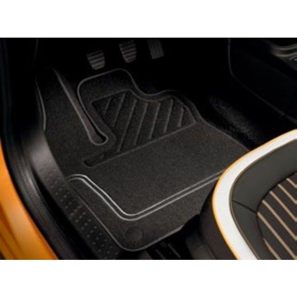 Renault Twingo Mattenset stof - Premium - Grijs - Set van 4