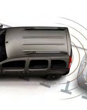 Renault KANGOO Renault KANGOO - Uitschakeling parkeersensoren