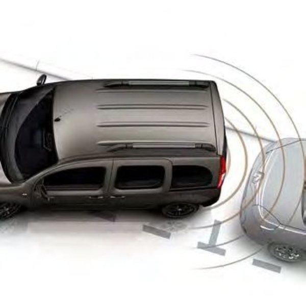 Renault KANGOO Uitschakeling parkeersensoren achter (verplicht voor auto's met trekhaak)