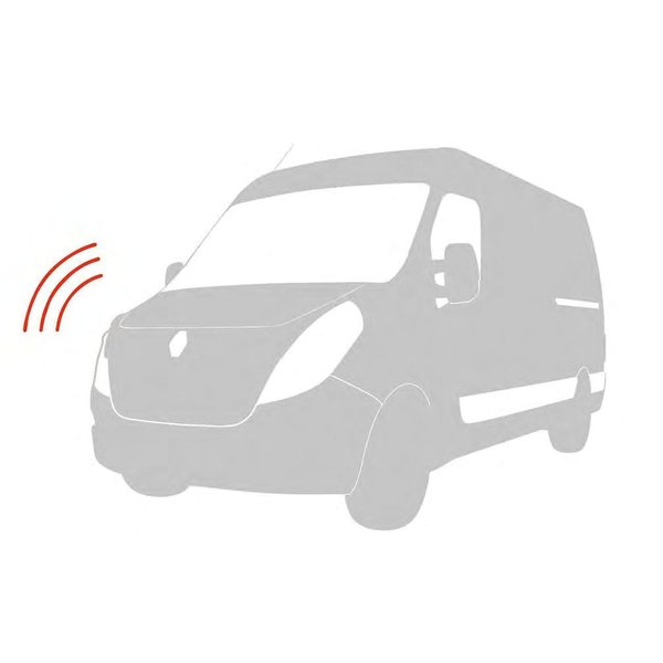 Renault KANGOO Alarm voor bestuurdersruimte en laadruimte