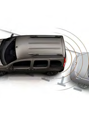 Renault Trafic Renault Trafic - Parkeersensoren
