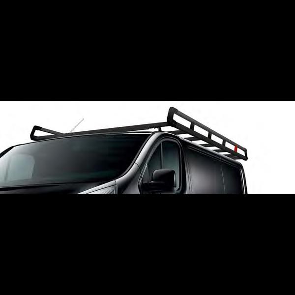 Renault Trafic Q-Top Aluminium imperiaal L1 (achterklep) Inclusief Ladderrol