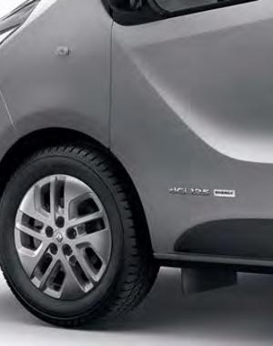 Renault Trafic Renault Trafic - Spatlappen Achter