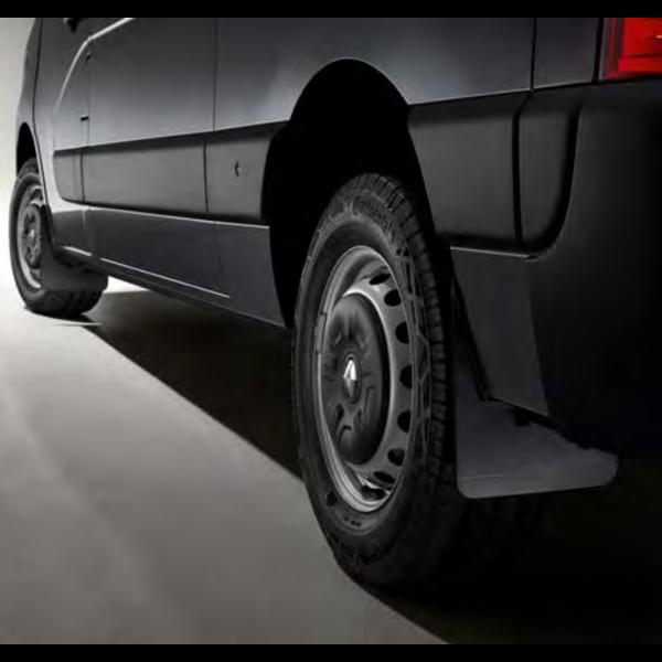 Renault MASTER Spatlappenset achter (dubbel lucht)