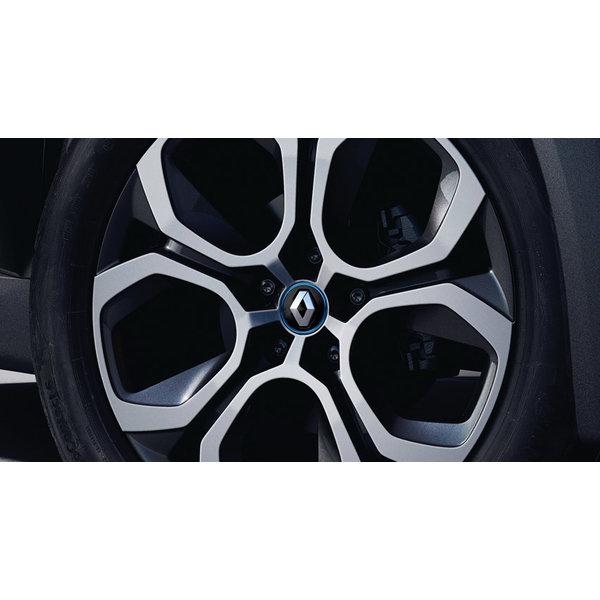 Renault ZOE Naafkap - Zwart met blauwe belijning