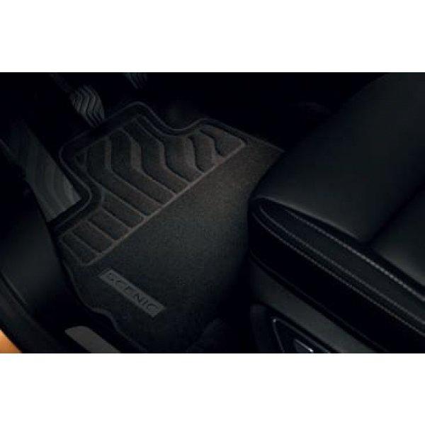 Renault Scénic Stoffen vloermatten Comfort - Auto zonder of met verschuifbare console
