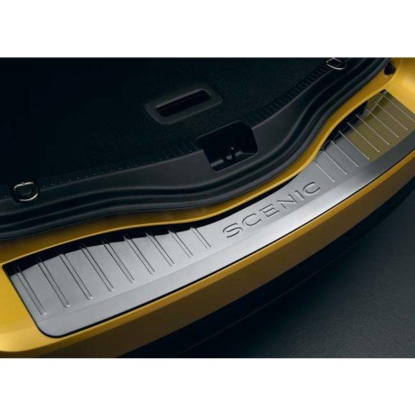 Renault Scénic Laaddrempelbescherming - rvs - Auto zonder wegklapbare trekhaak (Scénic of Grand Scénic)