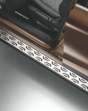 Nissan Qashqai - Side Steps Aluminium