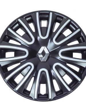 Renault Twingo Renault Twingo - 15'' Wieldoppen - zwart met zilver