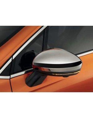 Renault Clio 5 (vanaf 2019) Renault Clio (vanaf 2019) - Chromen spiegelkappen
