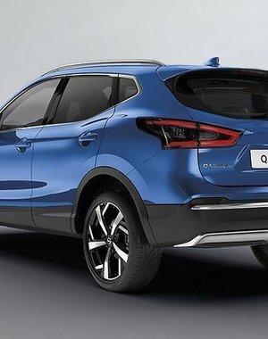 Nissan Qashqai | 2014 – 2021 Nissan Qashqai - Sierlijst - Achterbumper