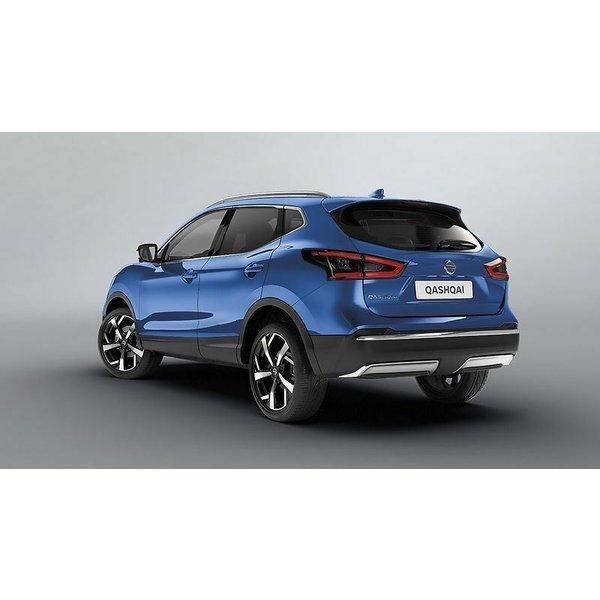 Nissan Qashqai   2014 – 2021 Nissan Qashqai - Sierlijst - Achterbumper - Chrome