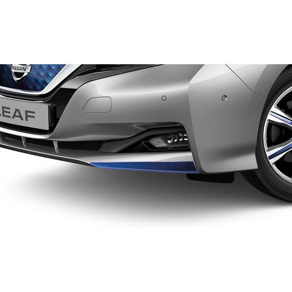 Nissan LEAF Nissan LEAF - Accent voor de voorbumper blauw