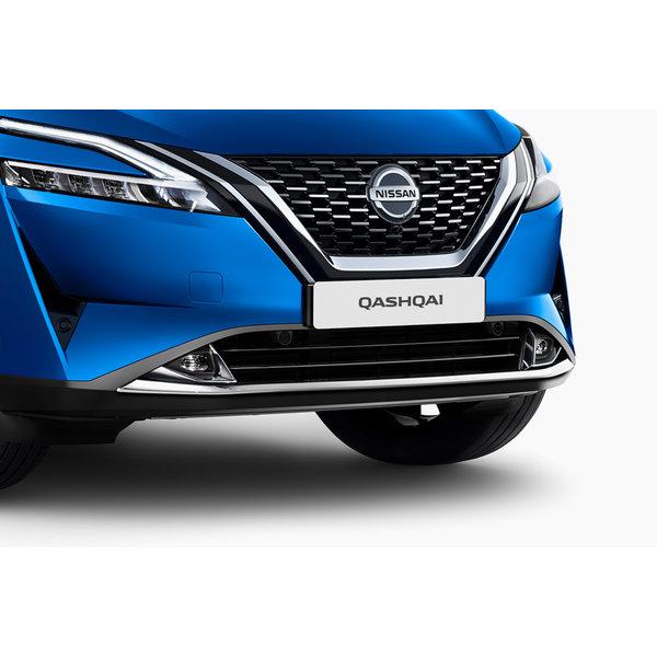 Nissan Qashqai   2021 – heden Nieuwe Nissan Qashqai - Sierlijst - Voor - Chome
