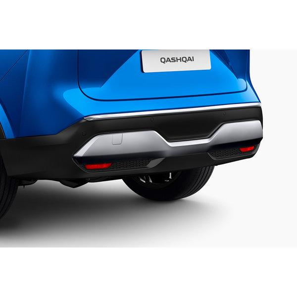 Nissan Qashqai | 2021 – heden Nieuwe Nissan Qashqai - Sierlijst - Achter - Chome