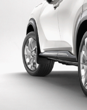 Nissan Juke Nissan Juke - Spatlappen voor