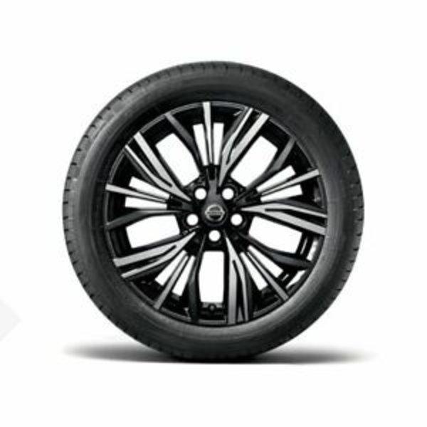 "Nissan Juke Nissan Juke - Lichtmetalenvelg 19"" Akari Black Diamond cut"