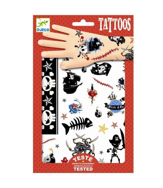 Djeco | Body Art | Tattoos | Pirates | 3+