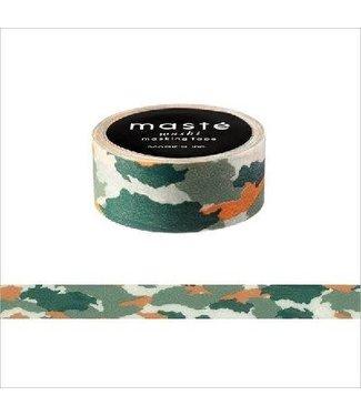 Mark's Mark's Japan Maste Washi Masking Tape -Camouflage Green