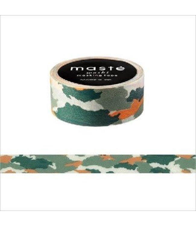 Mark's Japan Maste Washi Masking Tape -Camouflage Green