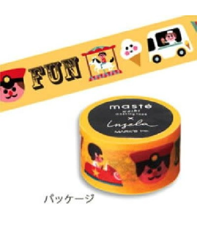 Mark's Japan Maste Washi Masking Tape - Ingela