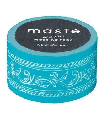 Mark's Mark's Japan Maste Washi Masking Tape - Frame Turquoise