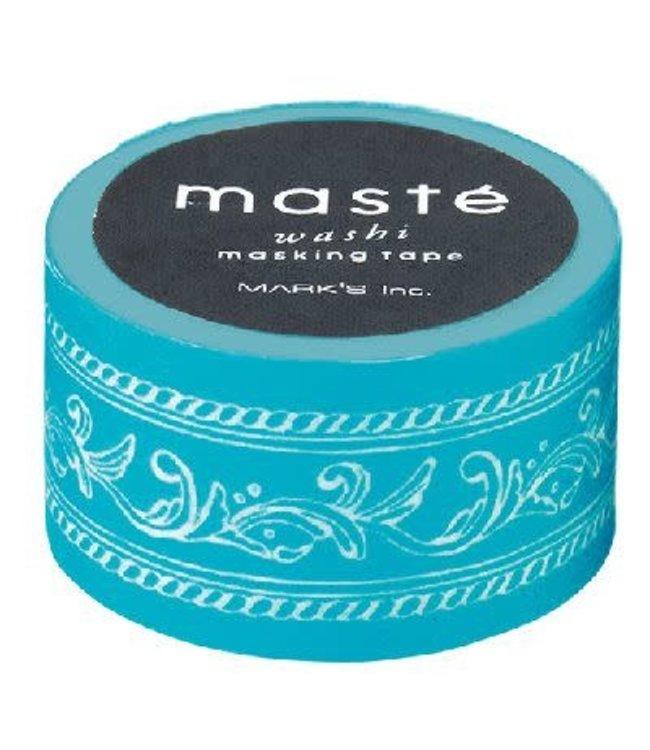 Mark's Japan Maste Washi Masking Tape - Frame Turquoise