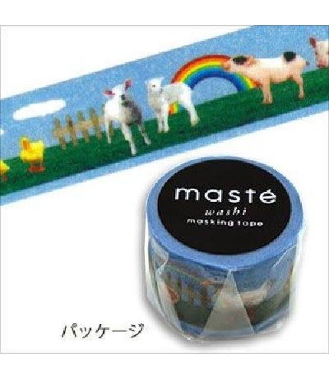 Mark's Japan Maste Washi Masking Tape - Farm