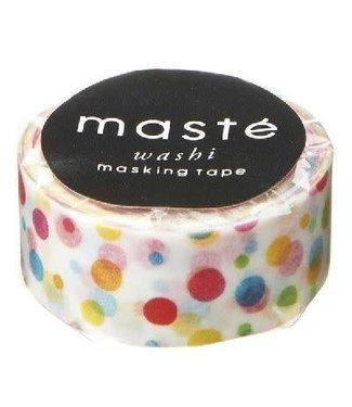 Mark's Mark's Japan Maste Washi Masking Tape - Colorful Dots