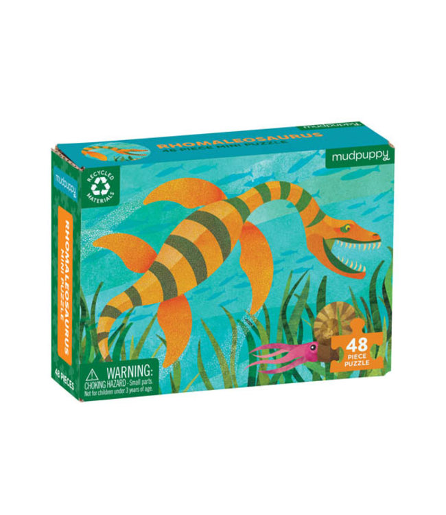 Mudpuppy Mini Puzzle Rhomaleosaurus 48 pcs 4+