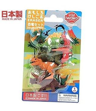 Iwako iwako Puzzle Eraser Dinosaur Set Two 3+