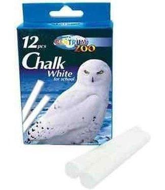Chalk White For School Schoolbordkrijt Wit 12 st