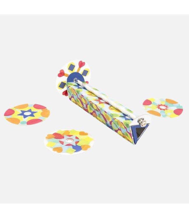 Tiger Tribe Kaleidoscope Kit  Easy Stick & Play 4+