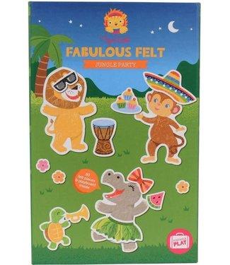 Tigre Tribe Tiger Tribe Fabulous Felt Jungle Party 3+