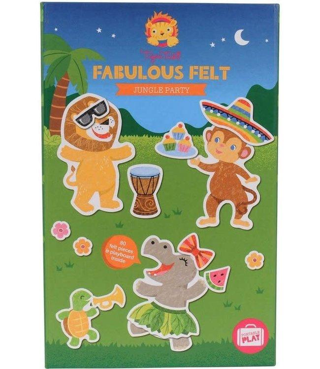 Tiger Tribe Fabulous Felt Jungle Party 3+