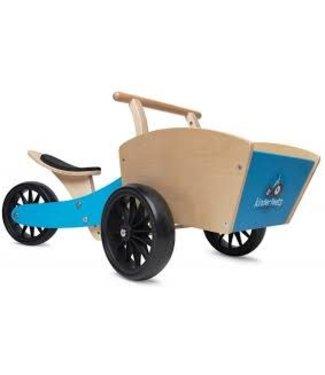 Kinderfeets Kinderfeets Cargotrike Bakfiets Blue 1+