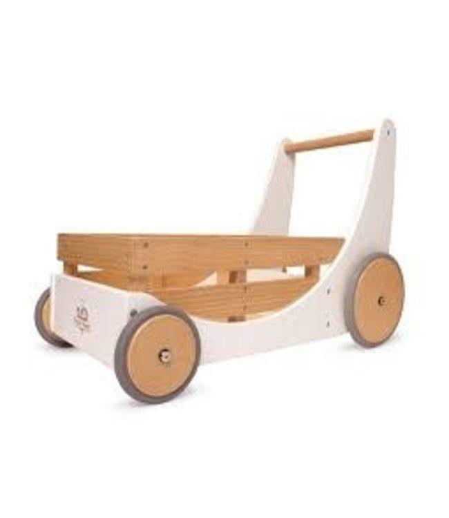 Kinderfeets Cargo Walker White Duwwagen 1+