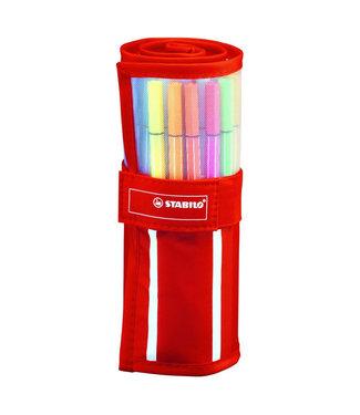 Stabilo Stabilo Pen 68 Viltstiften Rollerset met 30 kleuren